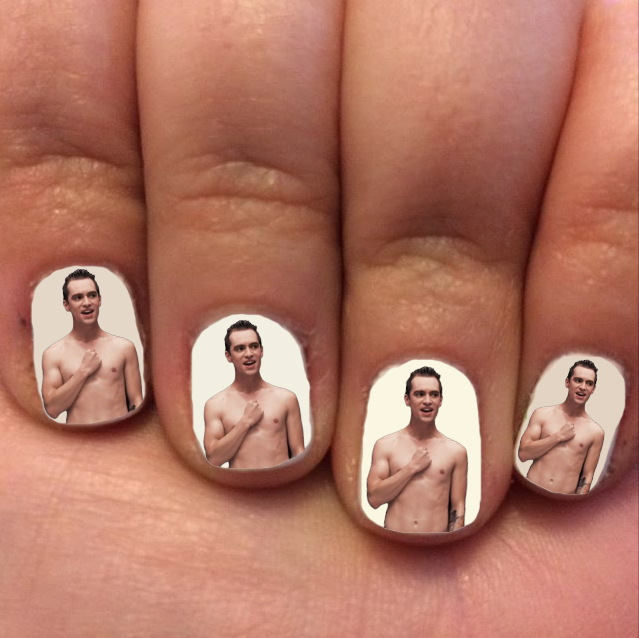 Brendon Urie Nails