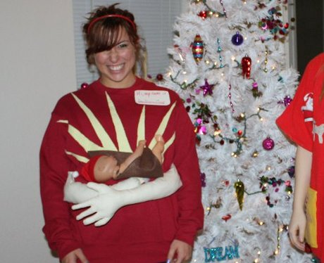 the actual baby jesus sweater