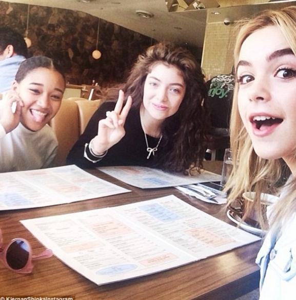 Amandla, Lorde, and Kiernan