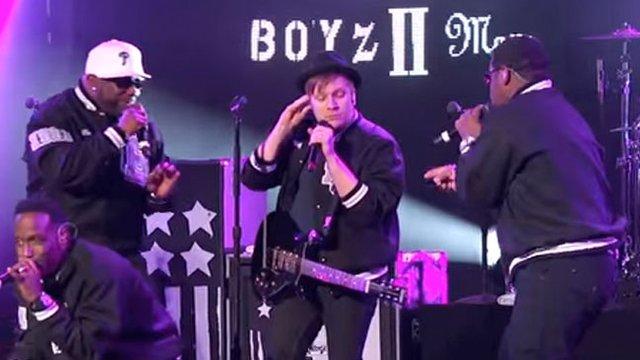 fall out boyz ii men - Fall Out Boy Christmas