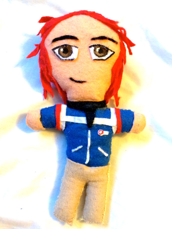 Gerard Way Plushie
