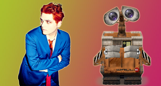 Gerard way wall e