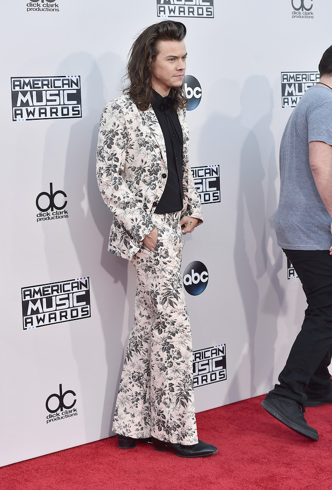 Harry Styles Suit AMAs