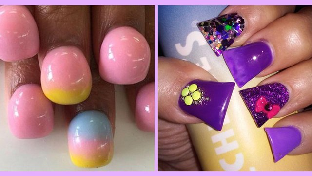 7 weird nail art trends that were not living their best life in nail art trends header prinsesfo Images
