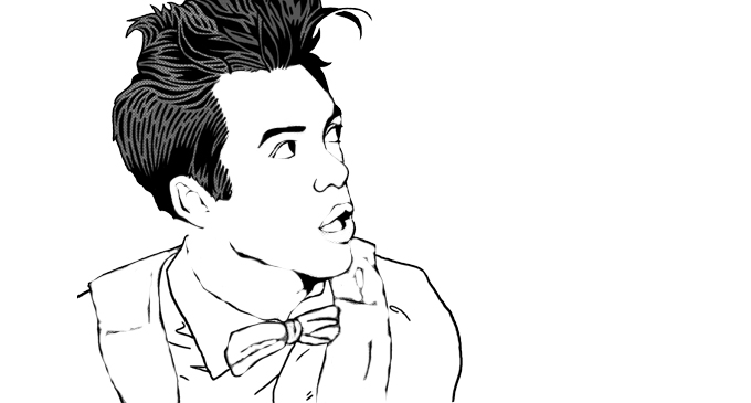 Brendon Urie Colouring Book