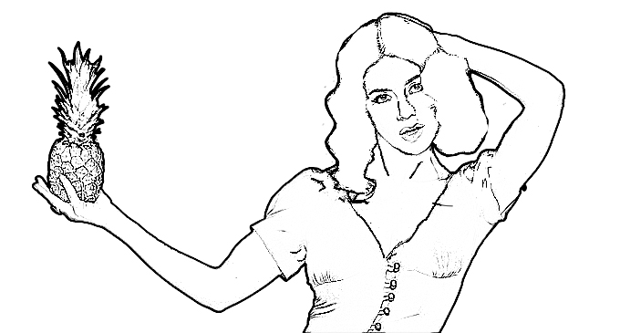 Give Your Faves A Makeover With These Kick Azz Colouring Pages - PopBuzz