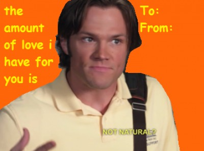 Sam Supernatural LOL