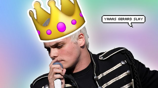 10 times gerard way was your spiritual sass leader popbuzz