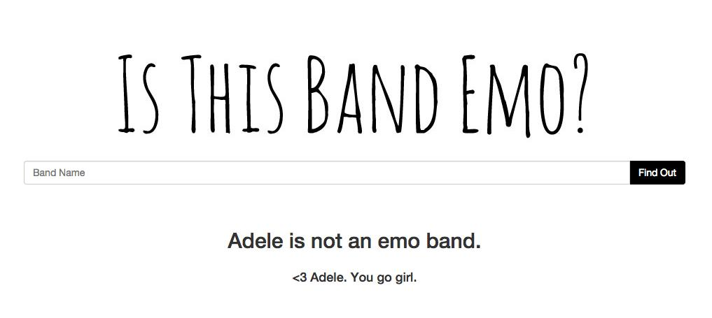 "Is This Band Emo?"" Will Settle All Your Musical Problems"