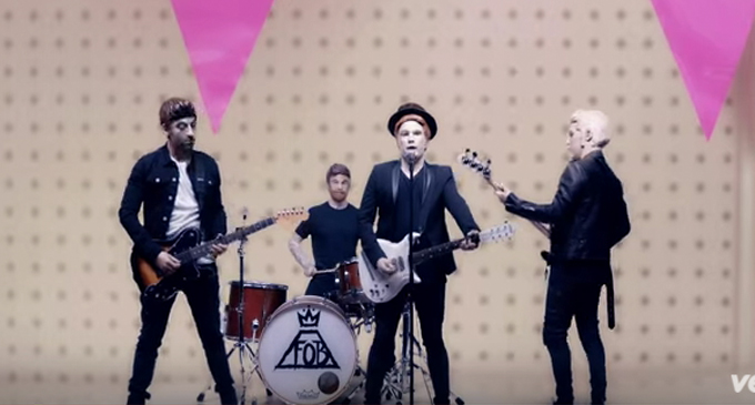 Fall Out Boy video header