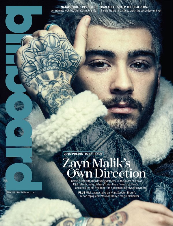 Zayn Malik Billboard