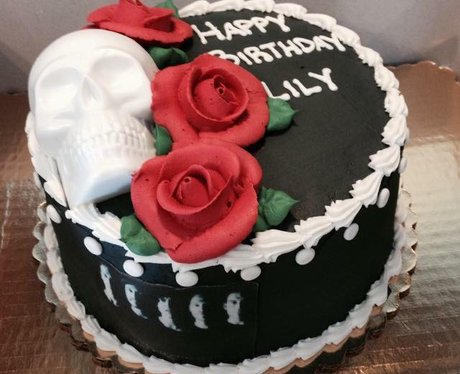 Facebook cake 1
