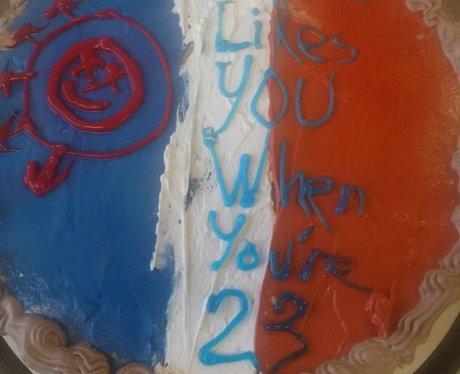 Facebook cake 3