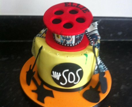 Phenomenal You Sent Us Your Pop Punk Birthday Cakes And Now Were Hungry Funny Birthday Cards Online Alyptdamsfinfo