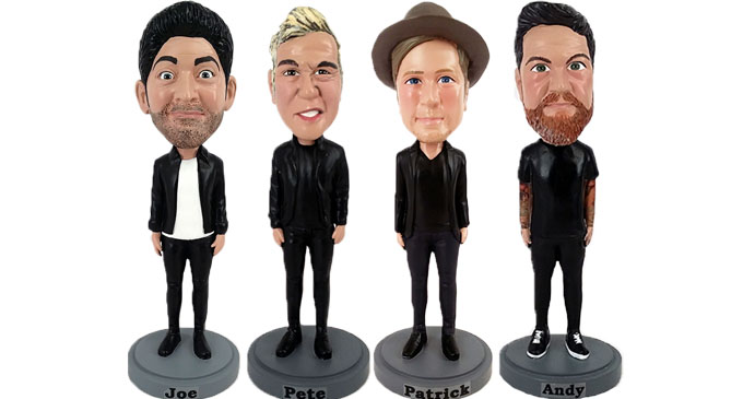 Fall Out Boy Bobbleheads