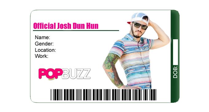 Josh Dun card 2