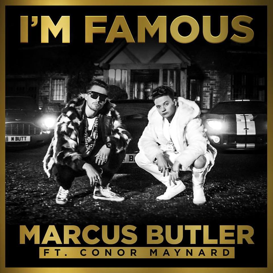 MArcus Butler I'm Famous Artwork