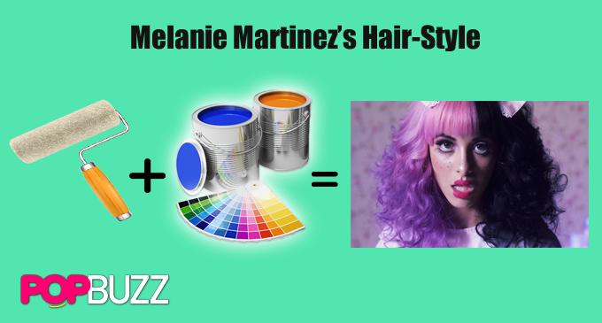 Melanie Martinez hair