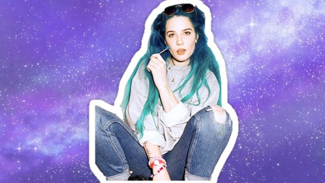 These Halsey Fan Dance Videos Will Have You Seeing Colours