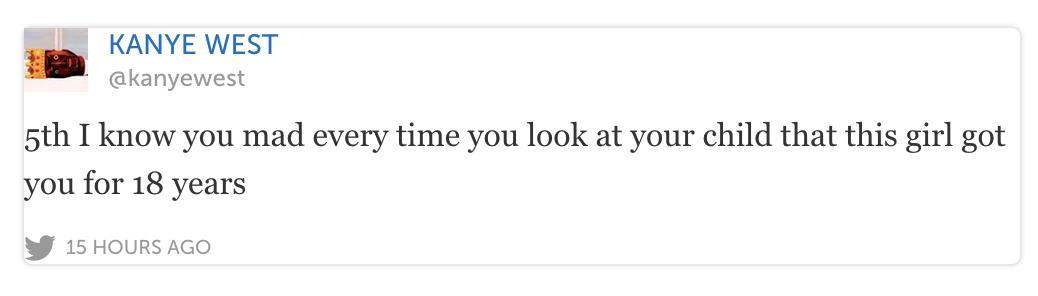 kanye tweets