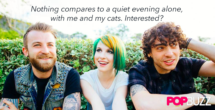 Paramore Pick Up  Lines