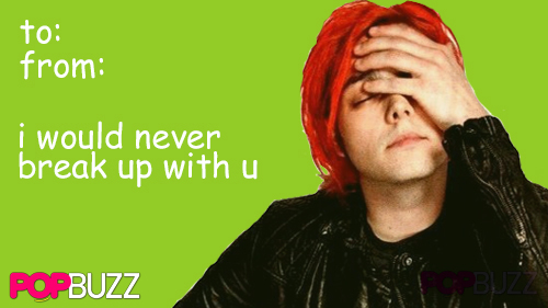 My Chemical Romance Tumblr Valentine 1