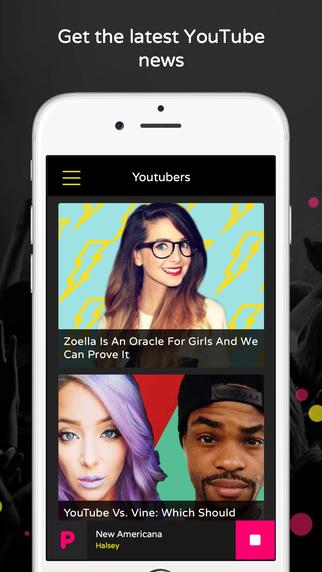 PopBuzz App Screen shot 4