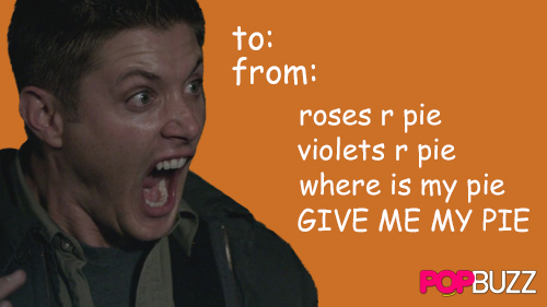 Supernatural Tumblr Valentine