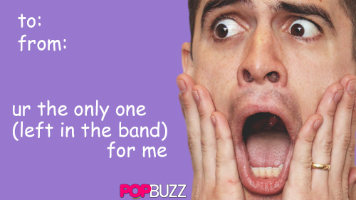 Brendon Urie Tumblr Valentine