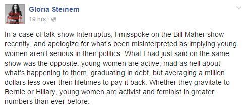 G Steinem
