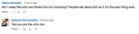 Gwen youTube Comments 6