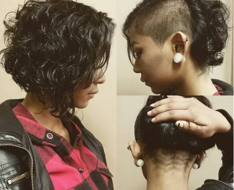 chevron undercut hidden hair tattoo