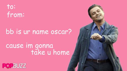 Leo DiCaprio Tumblr Valentine 2