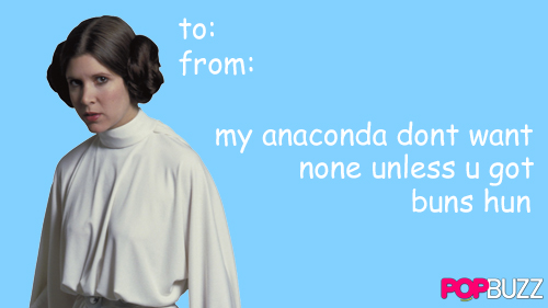 Princess Leia Tumblr Valentine