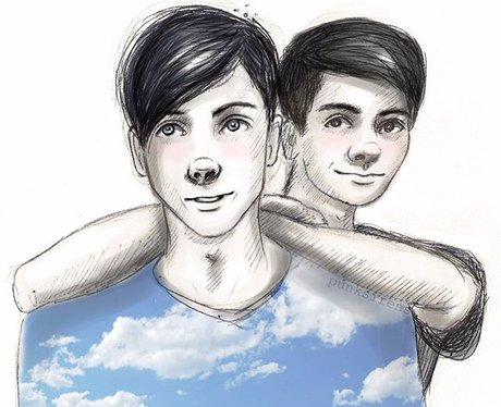 Dan and Phil Fan Art