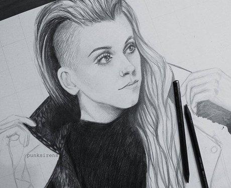 Lynn Gunn Fan Art