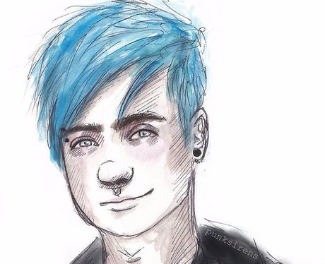 Michael Clifford 5 Seconds Of Summer Drawing