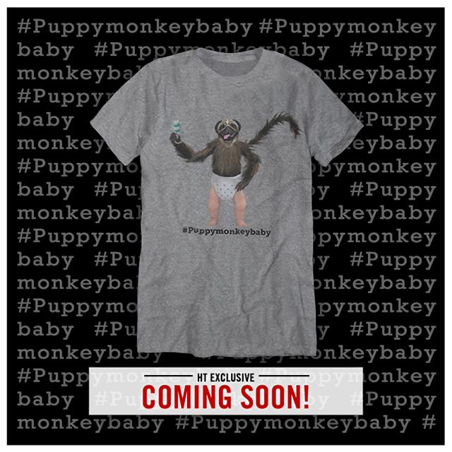 puppymonkeybaby tshirt
