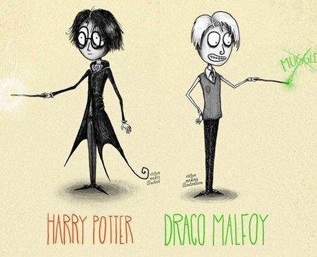 Harry Potter Tim Burton Style 2