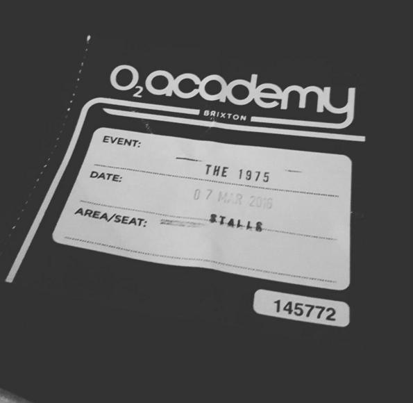The 1975 ticket