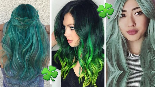 11 Majestic Green Hair Looks That Ll Keep Your St Paddy S Day On