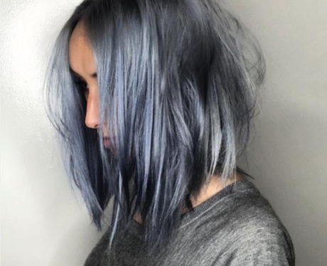 Denim Hair Trend 4