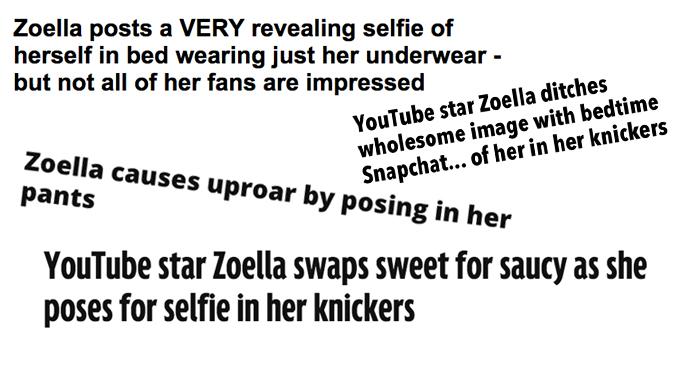 Zoella Headlines