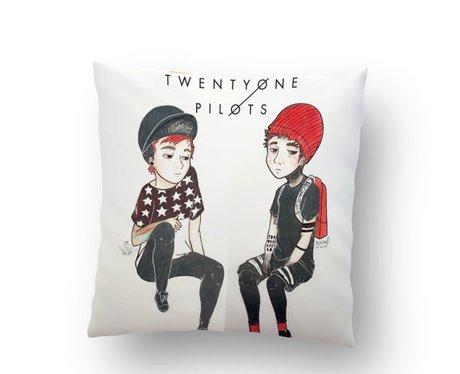 Twenty One Pilots Pillow Case
