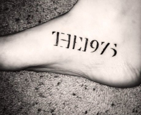logo these the 1975 fan tattoos are so beautiful yet so