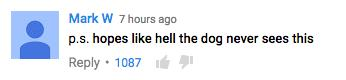 YouTube Zombie Prank Comment