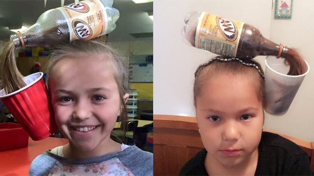 This soda bottle hair trend will make your whole look pop popbuzz soda hair bottle solutioingenieria Images