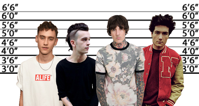 frontmen height