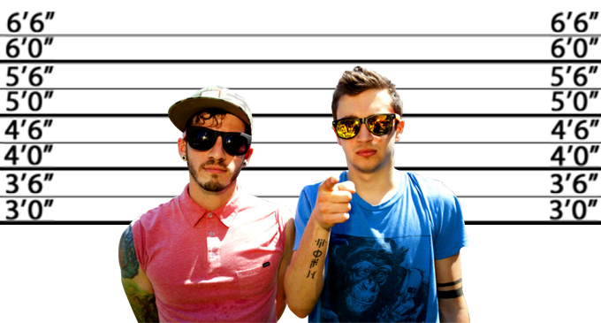 twenty one pilots height