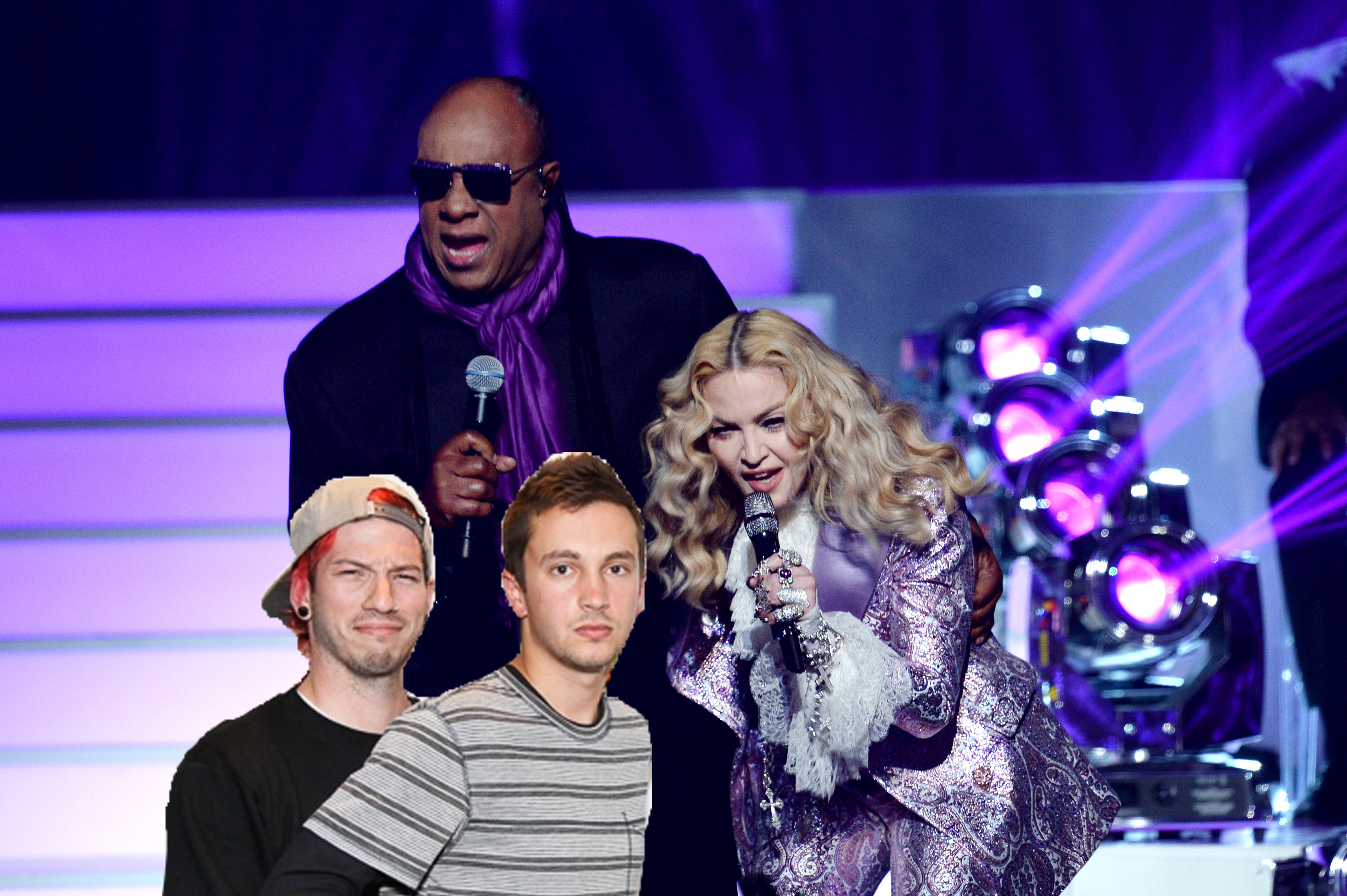 Madonna Stevie Wonder TØP